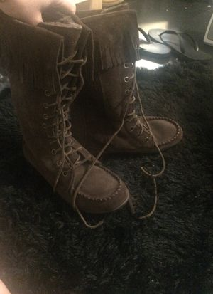 LL Bean dark brown boots size 7.5 m for Sale in Randleman, NC