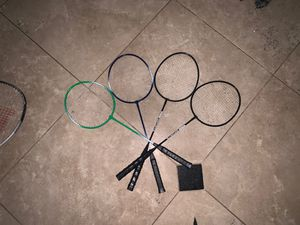 Tennis and birdy rackets (comes with its bag) for Sale in Katy, TX