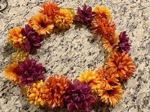 Handmade fall wreath for Sale in Palm City, FL