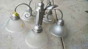 Comercial style Chandelier 5 lights for Sale in Vancouver, WA