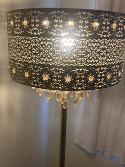 Vintage Lamp With Crystals for Sale in Los Angeles,  CA