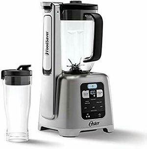 Oster BLSTAB-CB0-000 Blender with Vacuum Technology, Brushed Nickel for Sale in Stuart, FL