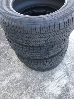 4 tires like new for Sale in Orlando, FL