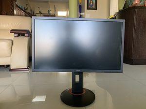 """Acer 144hz 24"""" Adjustable Monitor for Sale in HALNDLE BCH, FL"""