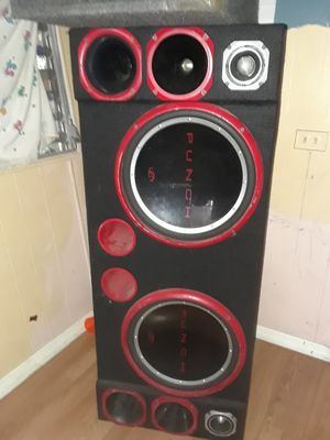 Big.monster.car Speakers for Sale in Lake Worth, FL