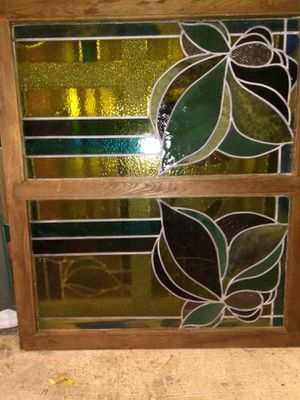 Antique leaded stained glass window for Sale in Redmond, WA
