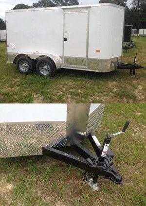 White/aluminum Cargo Craft 12ft.Trailer for Sale in Nashville, TN