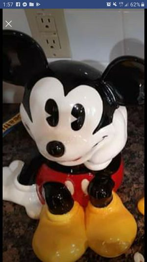 Mickey mouse cookie jar for Sale in Strawberry Plains, TN