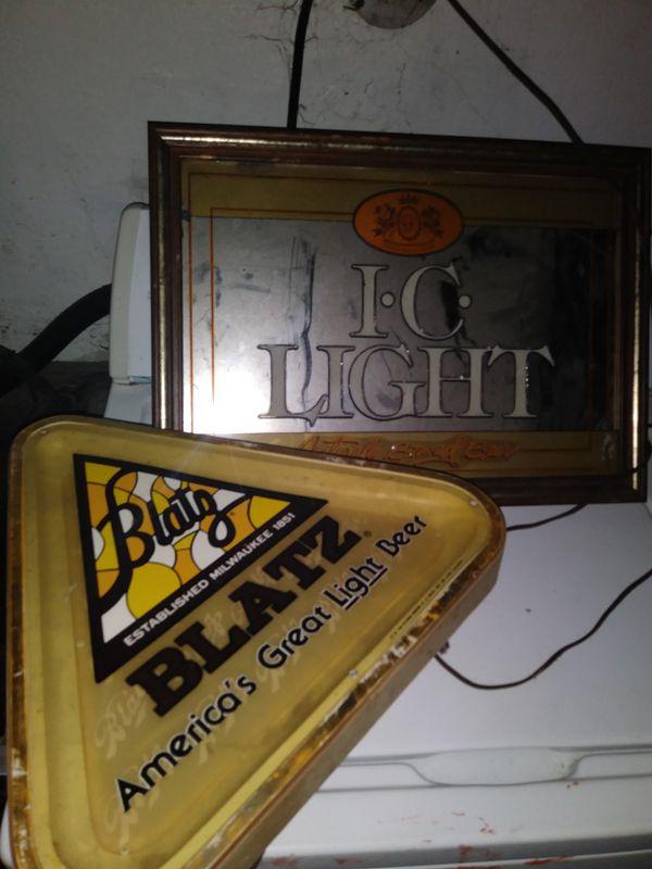 Bar lamps