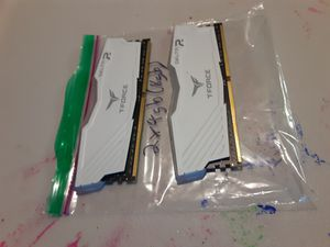 2x team T-Force Delta RGB 8gb (2x4 gb) (sold individually) RAM Sticks for Sale in Suisun City, CA