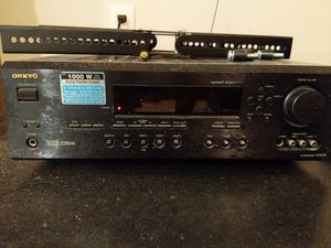 Onkyo 7.1 Dolby surround Receiver, center, R, L, and rear speakers, sub for Sale in Frederick, MD