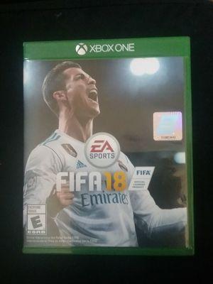 FIFA 18 Xbox One for Sale in Tempe, AZ