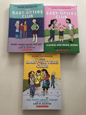 The Baby-Sitters Club 3 Book Set for Sale in Ashburn, VA