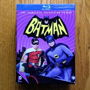 Batman: The Complete Television TV Series on Blu-Ray DVD for Sale in San Mateo, CA