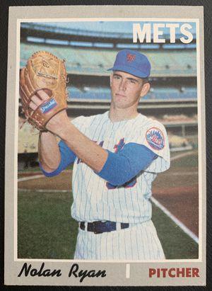 1970 Nolan Ryan Topps Baseball Card # 712 High Number Original Nice for Sale in Brea, CA