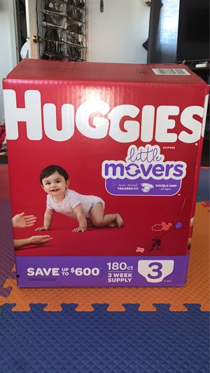 Huggies Box Size 3 Diapers for Sale in Rockville, MD