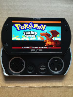 PSP Go Black Hacked With 5,000+ Games And Movies for Sale in Santa Ana, CA