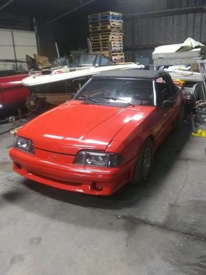 1992 Ford mustang GT convertible for Sale in Hutchinson, KS