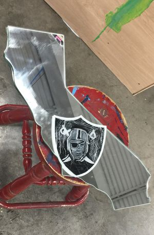Custom Raiders Mirror for Sale in Houston, TX