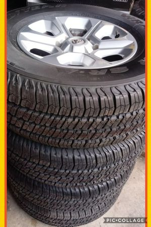 255/75R17 Toyota wheels/ new tires 6holes for Sale in Vancouver, WA