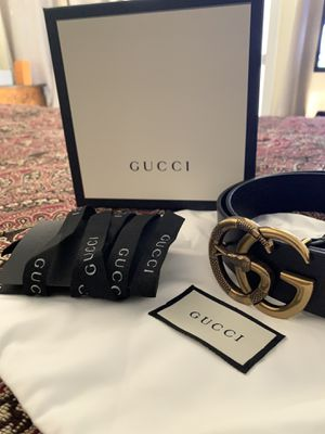 Gucci belt with box for Sale in Downey, CA