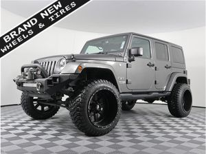 2018 Jeep Wrangler JK Unlimited for Sale in Burien, WA
