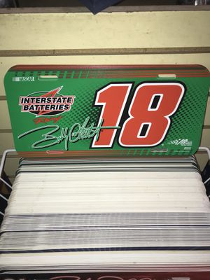 Interstate batteries driver #18 car license plate for Sale in Colorado Springs, CO