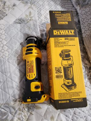Dewalt DCS551B 20V MAX Lithium Ion Drywall Cut-Out Tool Bare Tool Only New for Sale in West Palm Beach, FL