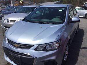 2017 Chevy Sonic, blue, tooth back up camera, wifi factory warranty, like new, fwd, clean. for Sale in Fall River, MA