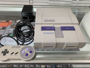 Super Nintendo Complete $100 Gamehogs 11am-7pm for Sale in East Los Angeles, CA