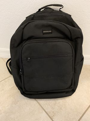 Quiksilver backpack- Black for Sale in Casselberry, FL