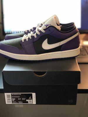 Jordan 1 low size 9.5 for Sale in Seattle, WA
