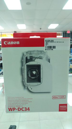 Canon Camera Waterproof Case for Sale in Houston, TX