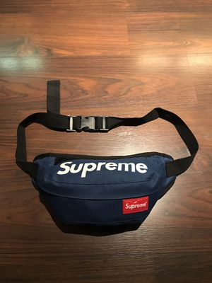 Blue Supreme Fanny Pack Bag for Sale in Los Angeles, CA