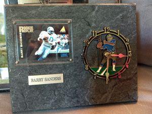 Vintage barry sanders clock for Sale in Ishpeming, MI