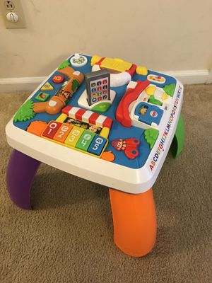 Fisher Price learning table for Sale in Charlotte, NC