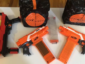 Nerf Guns Dart And Rival , Ammo, Bags And Targets for Sale in Vancouver,  WA