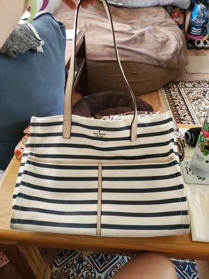 Kate Spade canvas tote for Sale in Morgantown, WV