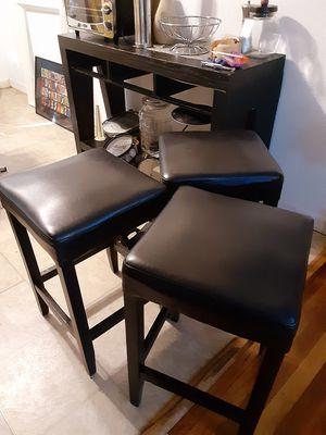 Black bar stools for Sale in BRECKNRDG HLS, MO