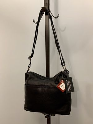 Authentic Leather Handbag, Made in USA for Sale in Alexandria, VA