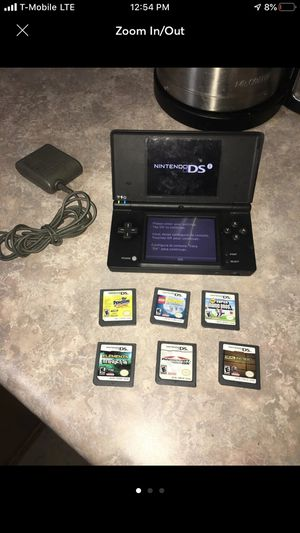 Nintendo DSI with 6 games for Sale in St. Louis, MO