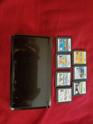 Nintendo 3ds with 6 Mario games for Sale in Watauga, TX
