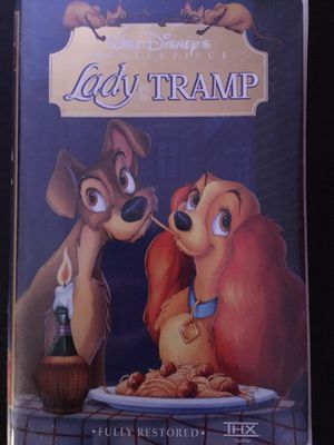Lady and the Tramp VHS tape for Sale in Pasco, WA