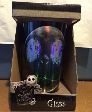 Disney The Nightmare Before Christmas Glass Tumblr for Sale in Fresno, CA