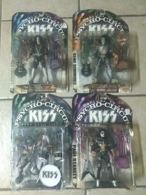 KISS McFarlane Toys KISS Psycho Circus Tour Edition Figure 4 set for Sale in San Antonio, TX