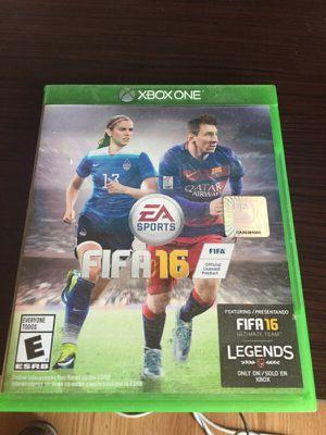 FIFA 16 Xbox One for Sale in Tempe, AZ