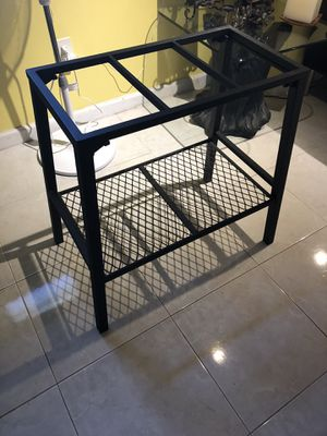 Aquarium Tank Aluminum Stand for Sale in Little Ferry, NJ