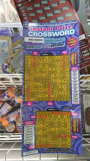 Lotto ticket for Sale in San Diego, CA