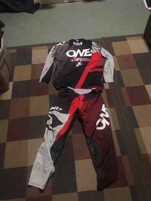 One Industries motocross pants and jersey for Sale in Fontana, CA