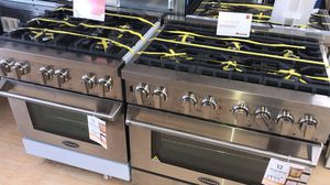 Brand new cosmos 30 and 36 inch gas ranges for Sale in Houston, TX
